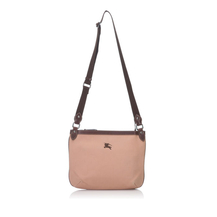 Burberry - Canvas Shoulder Bag - Catawiki 313d7acca3041