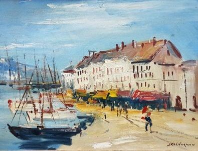 Jan Kelderman (1914-1990) - Boulervard