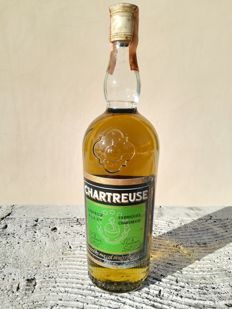 Chartreuse - Green - Voiron - b. Lata 60. - 75cl