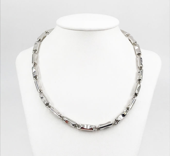 EURO90 - 18 kt. White gold - Necklace