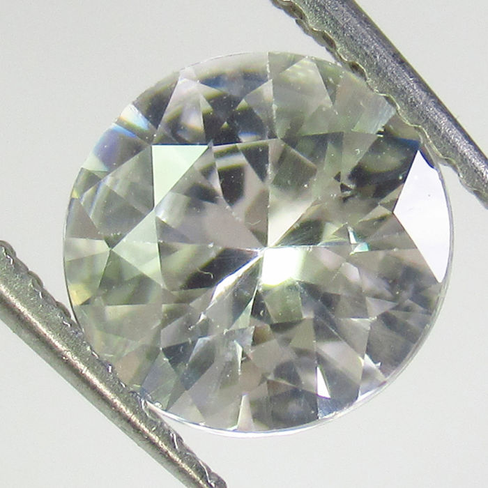 Wit Zirkoon - 1.88 ct