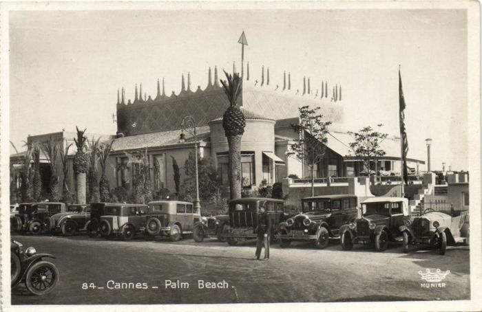 Automobile -Old Cars in the streets - Postcards (82) - 1900-1940