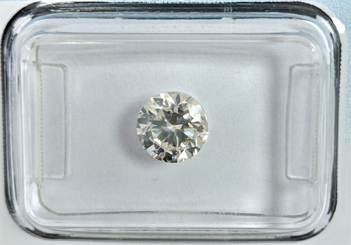 Diamante - 1.00 ct - Brillante - J - IGI Antwerp, SI2