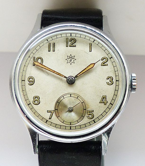 Junghans - Military Style - Art Deco 7Jewels - 160031 - Miehet - 1901-1949