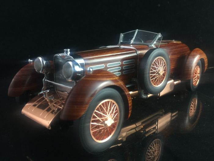 Franklin Mint Tulipwood Madera Suiza Racer Hispano 1924Juguete D9IeEH2YW