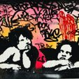 Street Art Auction (Stencil art)