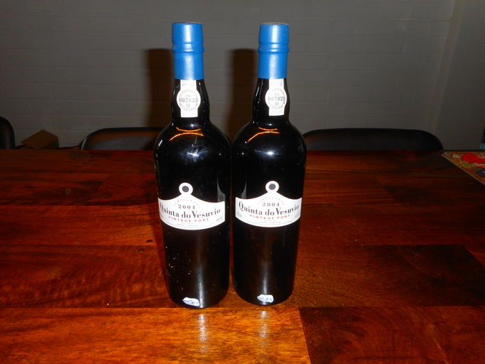 2004 Quinta do Vesuvio Vintage Port - 2 Bottles (0.75L)