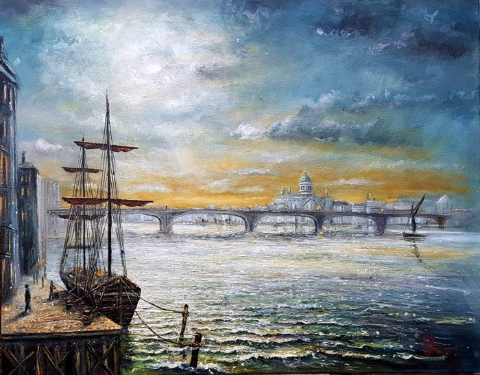 Joe Charman - Victorian London (St Paul's & Southwark Bridge)
