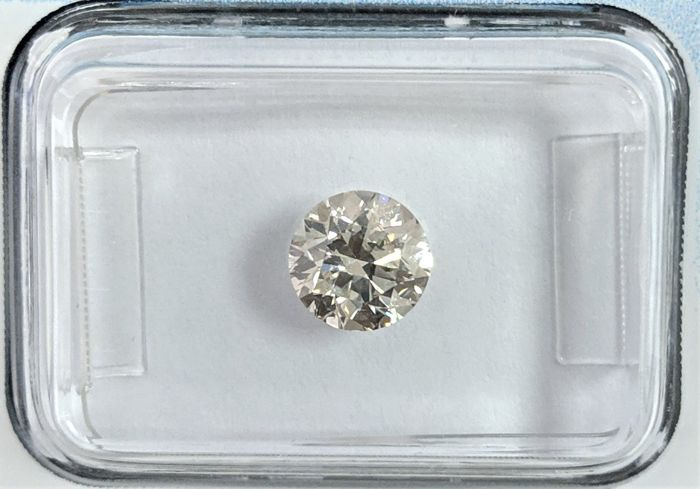 Diamant - 0.90 ct - Briljant - J - IGI Antwerp, SI2