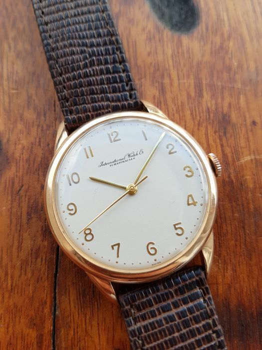IWC - cal.89 - Rose Gold 18K - ca.1961 - Mint Dial - Men - 1960-1969