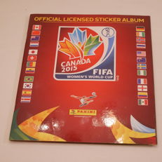 Panini - Álbum completo FIFA Womens Worldcup Canada 2015
