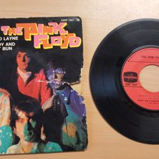 """Pink Floyd - Arnold Layne / Candy and a current bun / Interstellar overdrive - 7 """"EP - 1967"""