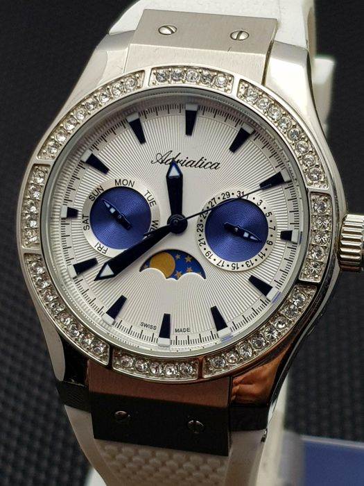 Adriatica - Moon Phase Chronograph swiss made  - 女士 - 2011至今