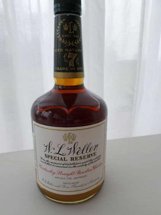 W.L. Weller Special Reserve 7 years old - 750 ml