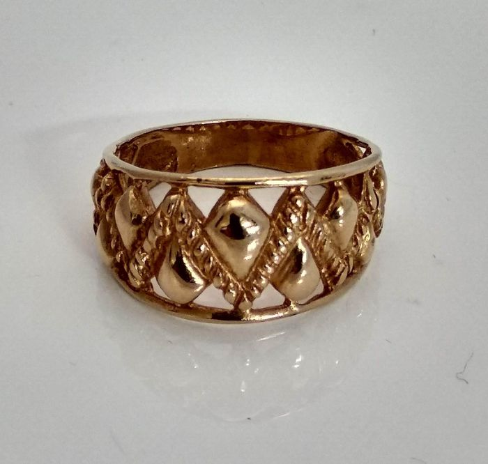 19,2 kt Gold - Ring