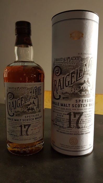Craigellachie 17 years old - 0.7 Ltr
