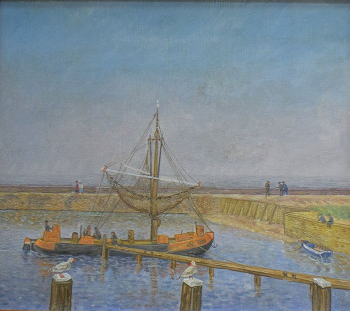 Jacob Nieweg (1877 - 1955) - Hogebeitum, Friesland