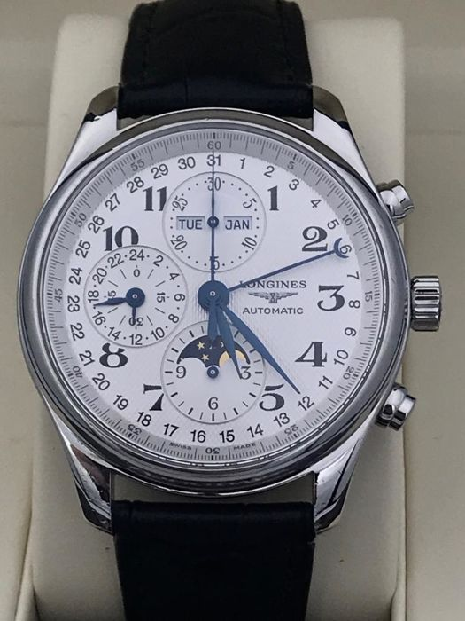 Longines - Master Collection Triple Date Moonphase  - L2.673.4.78.3 - 男士 - 2011至现在