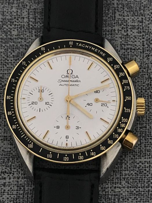 Omega - Speedmaster Automatic Chronograph Gold Steel  - 175.0032 - Hombre - 2000 - 2010