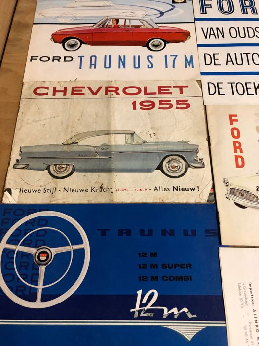 Brochures / Catalogues - Diversen oaFord Taunus, Chevrolet. - 1968