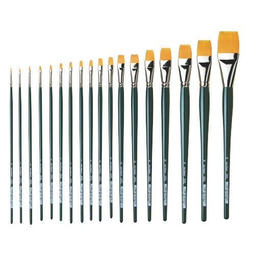 DAVINCI SET OF 14 - Da Vinci Nova Flat Oil Brushes Series 1870  - 14