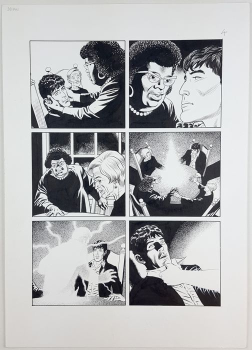 Dylan Dog Color Fest n. 12 - Dyd & Mister No - original page - Loose page - First edition - (2014)