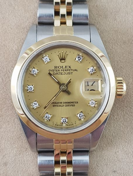 Rolex - Oyster Perpetual Datejust - 69173 - Dames - 1980-1989