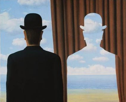 René Magritte (after) - Décalcomanie