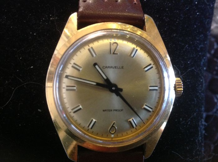 Caravelle - A.C. 1975 Antimagnetic 17 Rubis - 9287 - Homme - 1970-1979