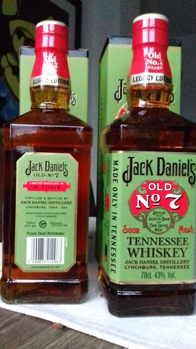 Jack Danieles - Legacy Limited Edition - 70cl - 2 bottles
