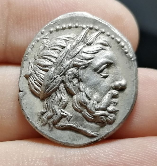 Greece (ancient) - Kings of Macedon. AR Tetradrachm, Kassander. As regent (317-305 BC), 316-311 BC. In the name and types of Philip II. Amphipolis mint - Silver