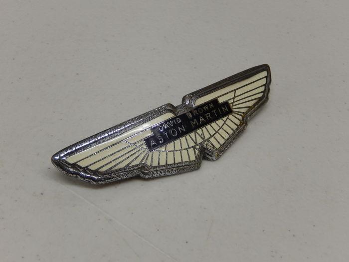 Emblema - David Brown DB Aston Martin Bonnet Badge - 1960