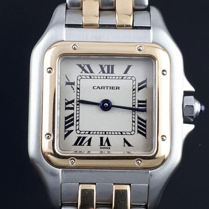 Cartier - Panthere /Gold & Steel / - Femei - 1990-1999