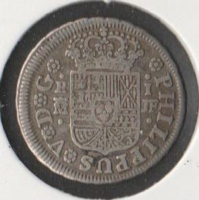 Spain - Madrid - Philipe V - One Real 1739 - Silver
