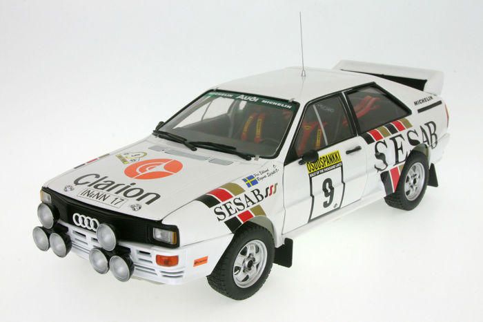 Sunstar - 1:18 - Audi Quattro A2 #9 1000 Lakes Rally 1983 - Limited Edition of 899 pcs. (individually numbered)