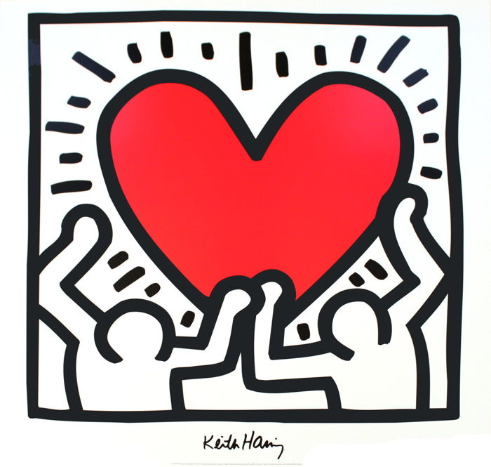 Keith Haring - Nr. 3 Poster Offset by LEM Art Group
