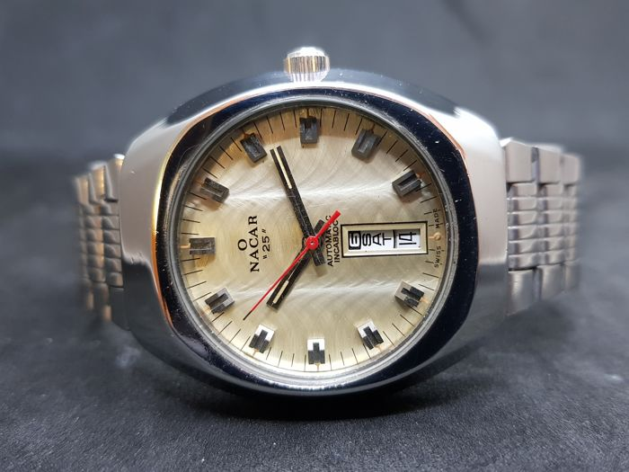 Nacar - Automatic Day Date - ETA  2789 - Men - 1970-1979