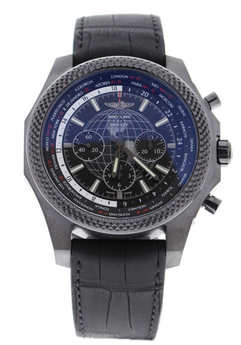 Breitling - Bentley B05 Unitime Midnight Carbon Limited Edition Black Steel Rubber Strap - MB0521V4/BE46 - Unisex - 2019