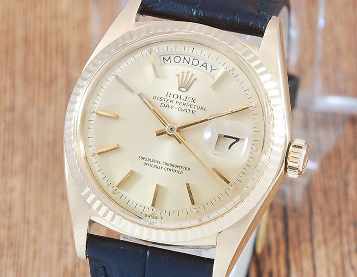 Rolex - Oyster Perpetual Day - Date - 1803 - Hombre - 1960-1969