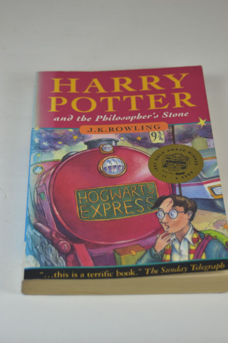 Copyright error; Joanne Rowling (instead of J.K. Rowling) - Harry Potter and the Philosopher's Stone, 27th impression - 1997