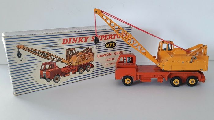 Dinky Toys - 1:43 - Camion Grue Cole 20 tonnes N°972