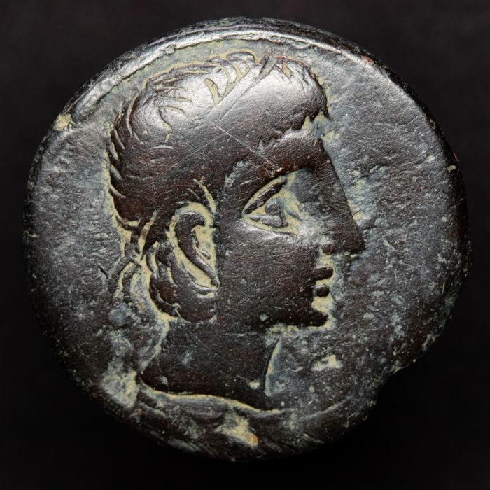 Roman Republic - Hispania, Castulo (Linares, Jaén, Spain). AE As, 180-150 B.C. - Esfinge - Estrella. - Bronze