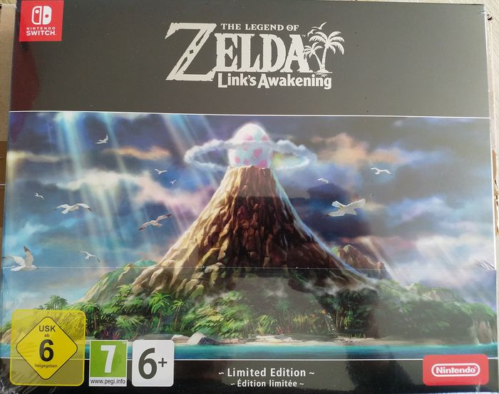 "Nintendo Switch - Zelda ""Link's Awakening"" Limited Edition - In original sealed box"