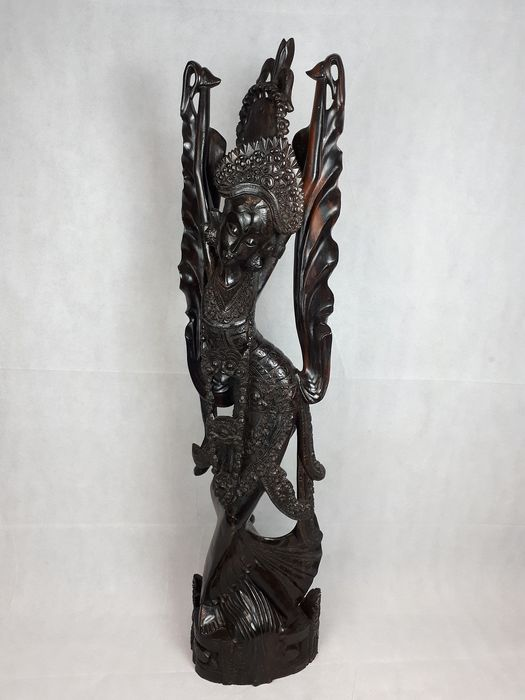 Very large sculpture or a dancer - Coromandel wood - Bali, Indonesia