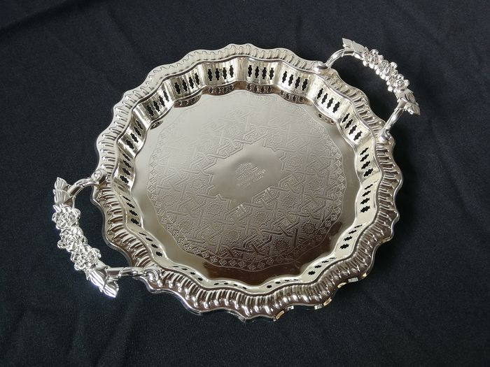 Royal Ascot - Silver plated serving tray - Silverplate