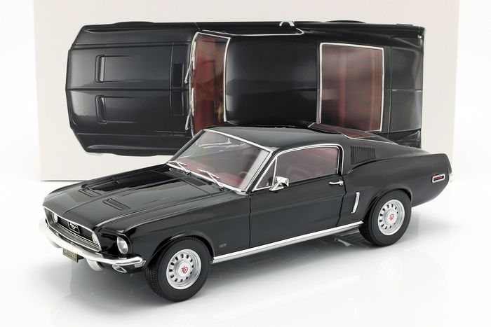 Norev - 1:12 - Ford Mustang Fastback 1968