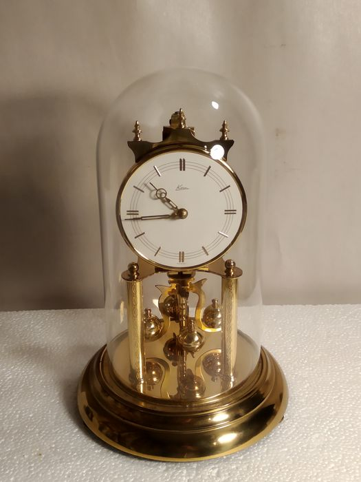 Clock - Copper, Glass - 20th century