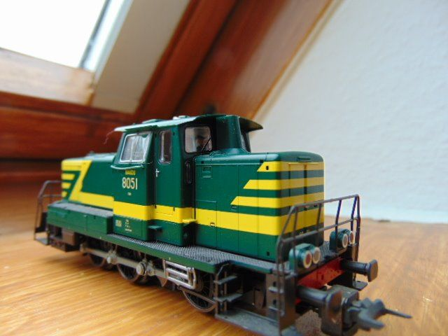 Roco H0 - 58535 - Diesel locomotive - Series 80 - NMBS