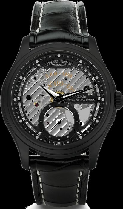 Armand Nicolet - L14 Small Second -Limited Edition- - A750ANN-NR-P713NR2 - from official dealer - Men - 2011-present
