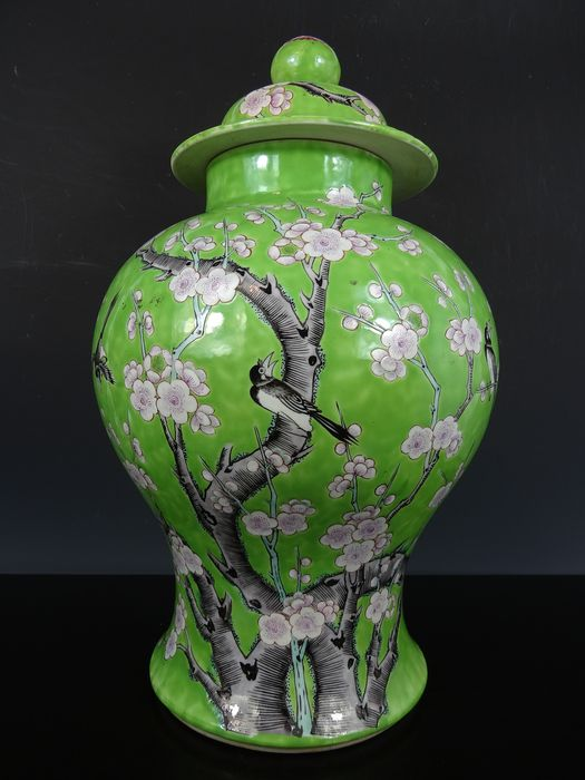 Jarrón - Porcelana - China - Guangxu (1875-1908)